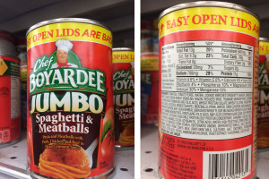 Bad Meal In Can for Kids