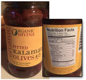 Divinia Organic Olives