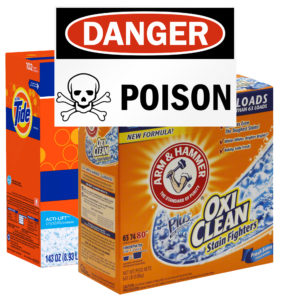 Your home is filled with poisons!